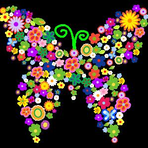 Mariposa Flor